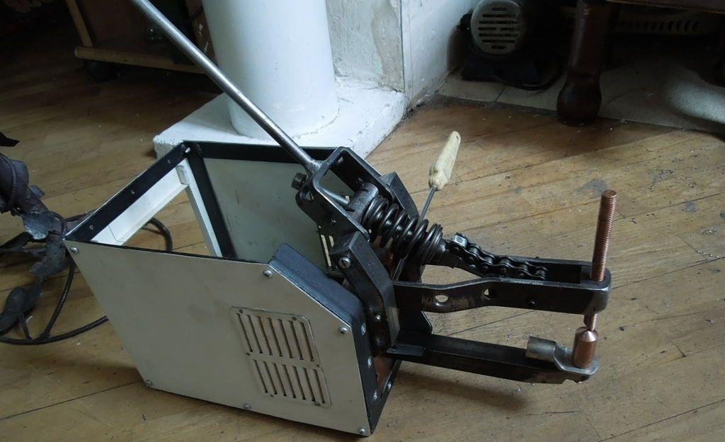 Как собрать аппарат для точечной сварки из инвертора своими руками
