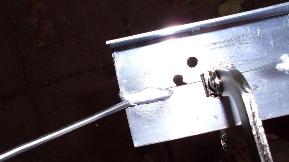 Пайка алюминия в домашних условиях оловом 734