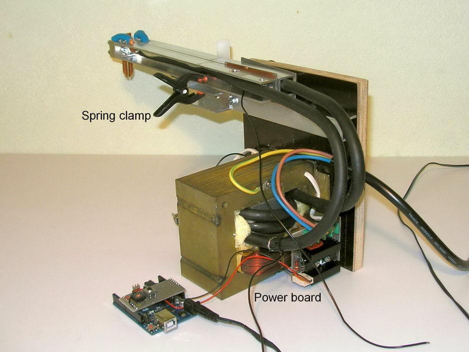 Контактная точечная сварка для аккумуляторов своими руками