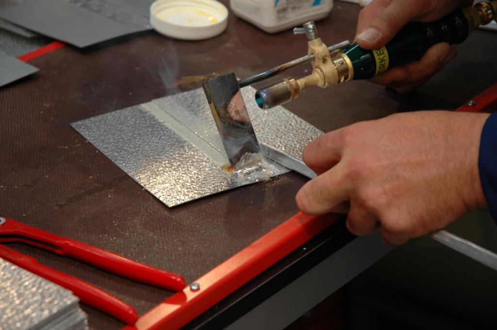 Пайка алюминия в домашних условиях оловом 967