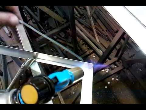 Флюс для сварки алюминия газовой горелкой