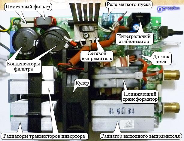 Транзистор для инверторного сварочного аппарата