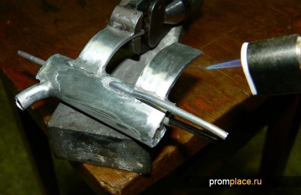 Чем спаять алюминий с медью